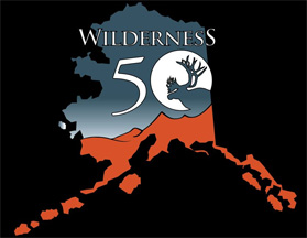 Alaska logo for the 50th anniversary of the Wilderness Act