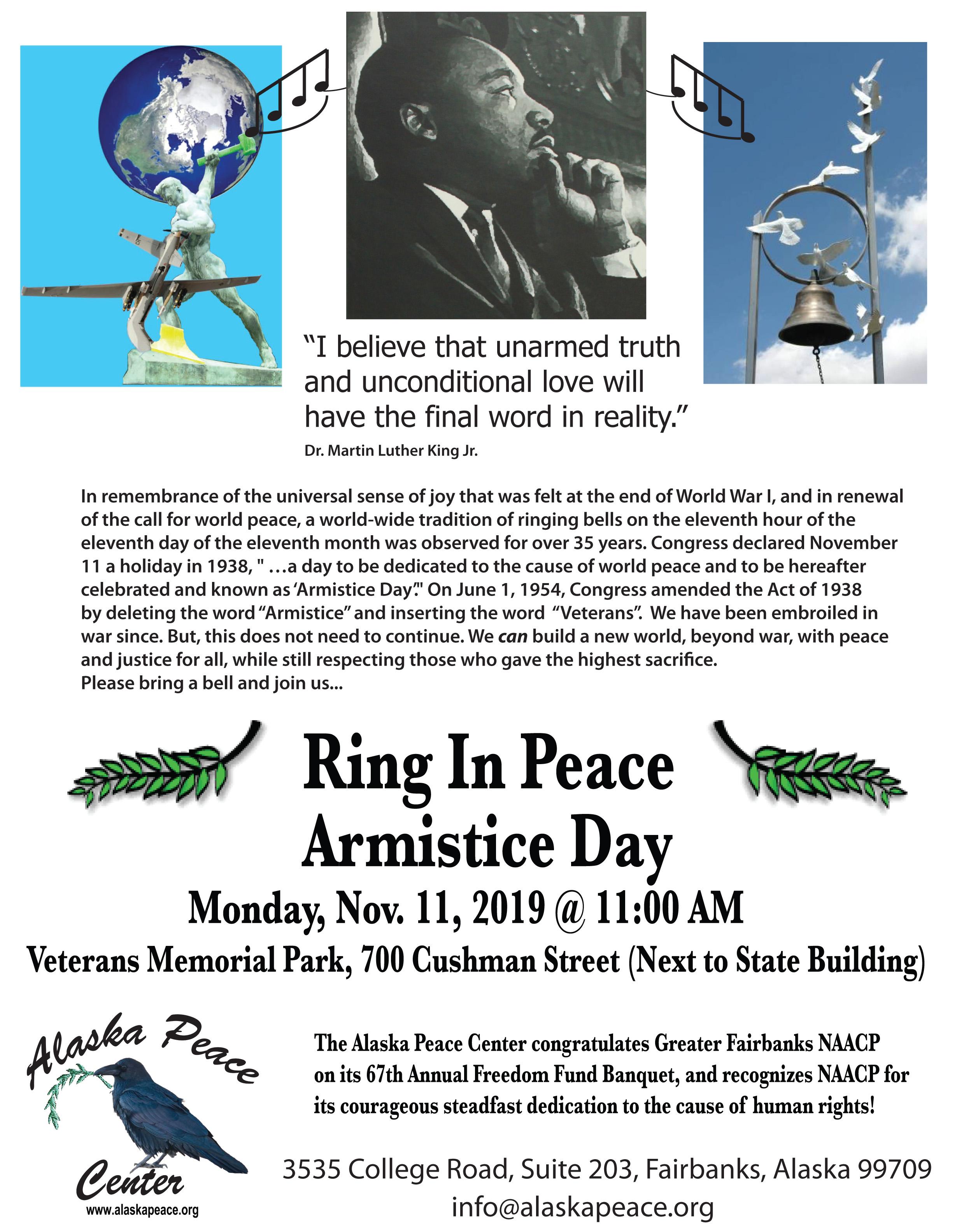 111119 Armistice Day - NAACP ad